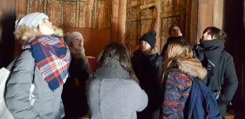 The incoming exchange students at the Faculty of Dentistry 2 years ago visited the Norwegian Museum of Cultural History