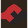 UiO Livsvitenskap sin logo i svart og rødt