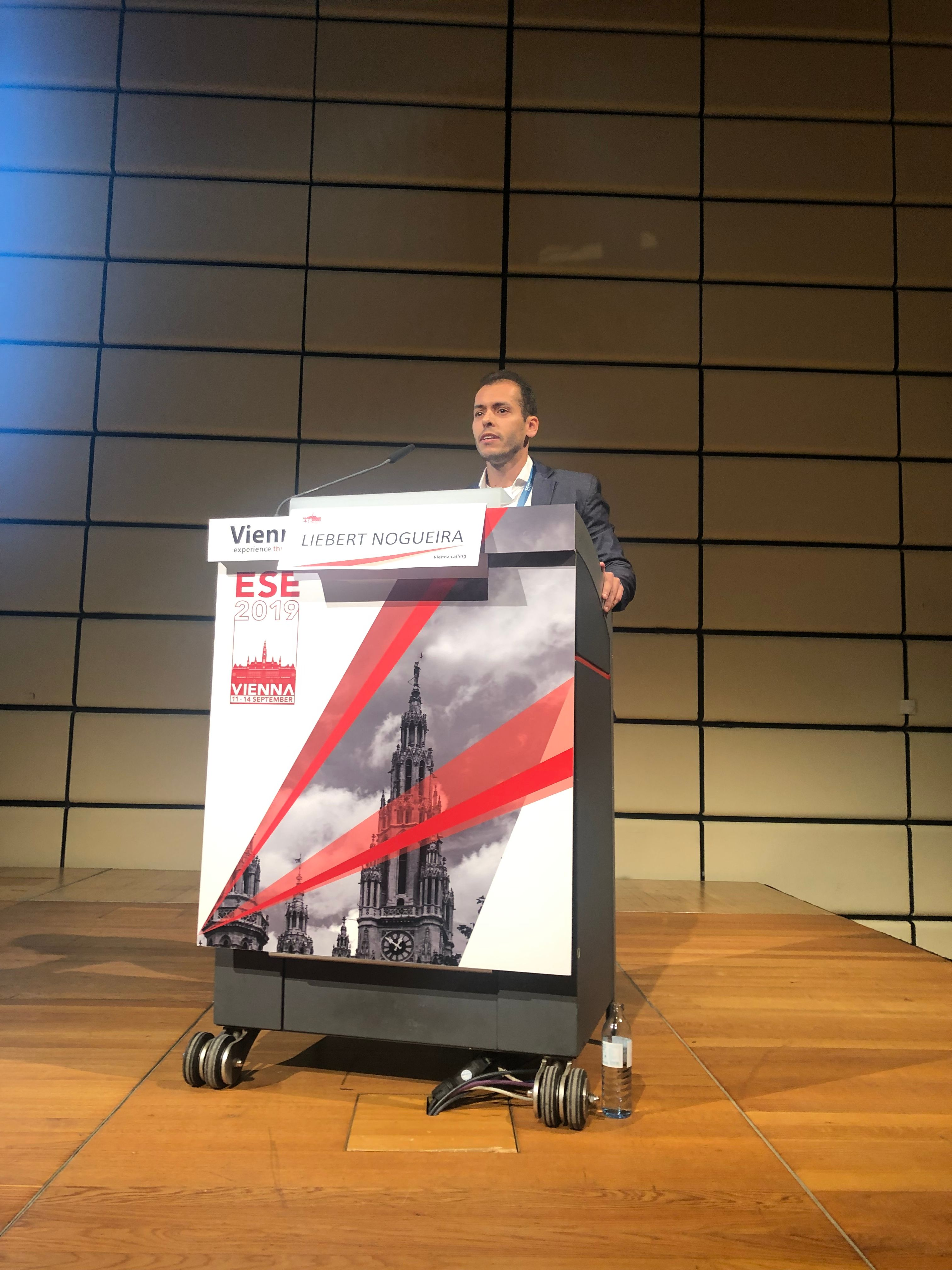 Liebert is given a plenary talk at ESE 2019