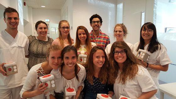 Glade utvekslingsstudenter ved Det odontologiske fakultet