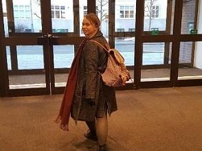 Irmelina Nilsen reiser på utveksling til Stockholm