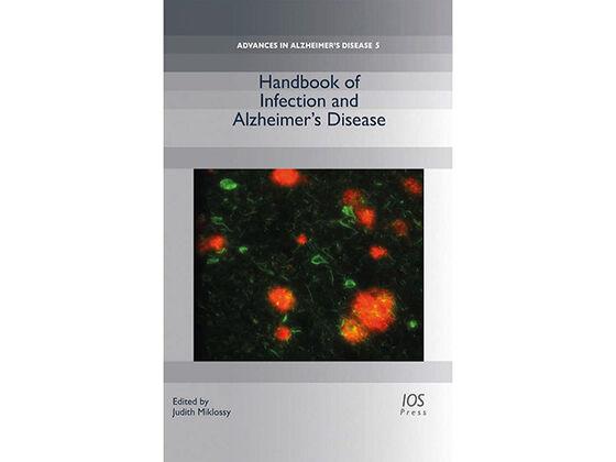Bilde av omslaget til boka, som inkludererer et mikroskopbilde, foruten info om tittel o.l.