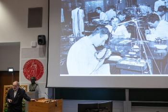 Bilde fra forelesning